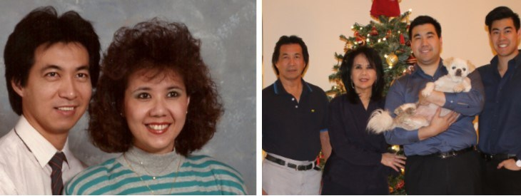Then & Now: Yostantos Family