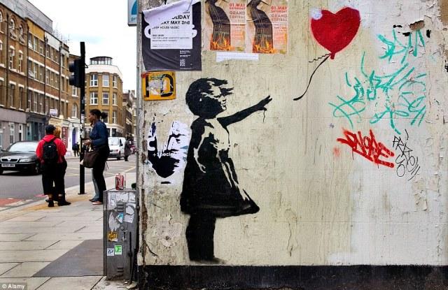 Banksy Sergisi 14 Ocak itibariyle 14 Nisan 2016 tarihine kadar gezilebilecek.