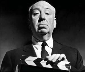 Psikolojik gerilim film türünün usta yönetmeni Alfred Hitchcock.