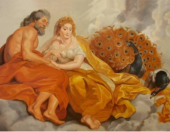 Zeus ve Hera - Rubens