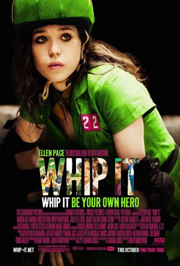 Yönetmenliğini Drew Barrymore'un yaptığı senaryosunu kendi romanından uyarlayarak Shauna Cross'un yazdığı 2009 yapımı Patenci Kızlar (Whip It) filmi hakkında.