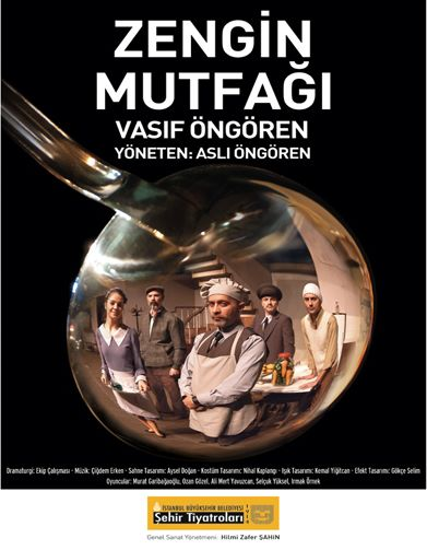 Vasıf Öngören'in 1977 yılında kaleme aldığı tiyatro oyunudur. Eser; 1970'in 15-16 Haziran büyük işçi eylemlerinde gerçekleşen olayları ve üst sınıf mutfağında çalışanların bu olaylar karşısında taraf olup-olmamalarını trajikomik bir dille izleyiciye sunuyor.
