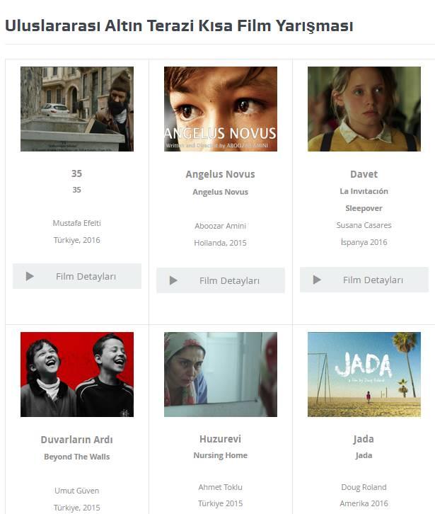 6. Uluslararası Suç ve Ceza Film Festivali Kısa Film -Yarışması