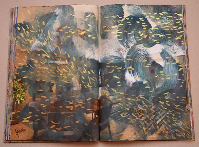 Faruk Kutlu- İnşaat kataloğundan dönüştürülen kitap (23,5x36cm-24 resim)