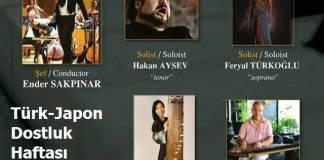 Türk-Japon Dostluk Haftası Konseri 6 Ocakta Antalya'da