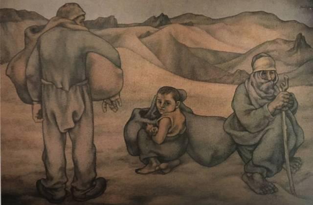 Resim 18: Mola (1962), tuval/yağlıboya, 139x210cm