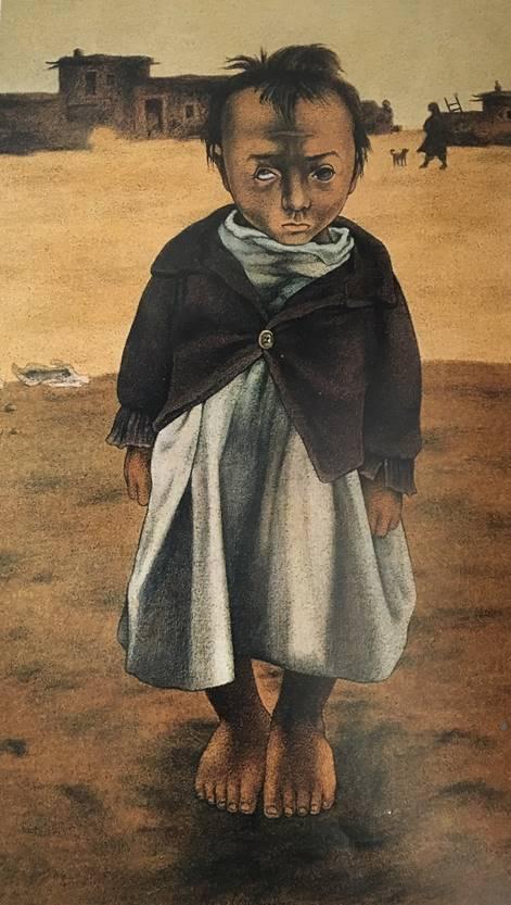 Resim 9:Mehmet'in Oğlu, 1983,tuval/ yağlıboya, 138x83cm
