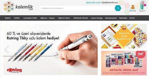 Kalemlik.com e-Ticaret Sitesi