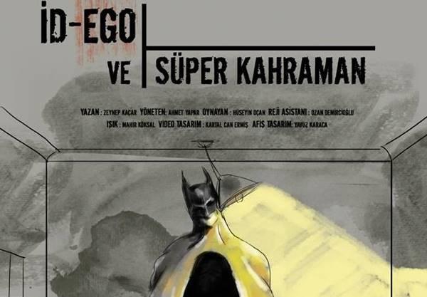 """Ankara Devinim Tiyatro 8. Sanat yılına Zeynep KAÇAR'ın yazdığı """"İD – EGO VE SÜPER KAHRAMAN"""" adlı oyunla başlıyor"""