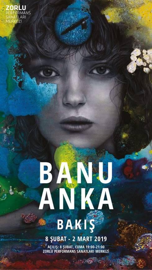 """Banu Anka ile """"Bakış"""" Resim Sergisi Hakkında Röportaj"""