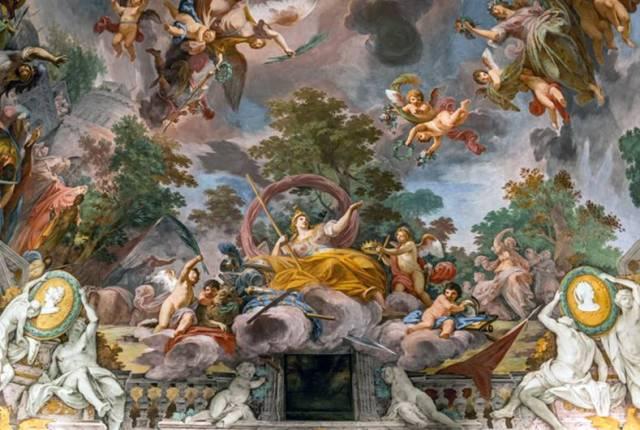 Borghese-Galerisinin Muhteşem Freskleri