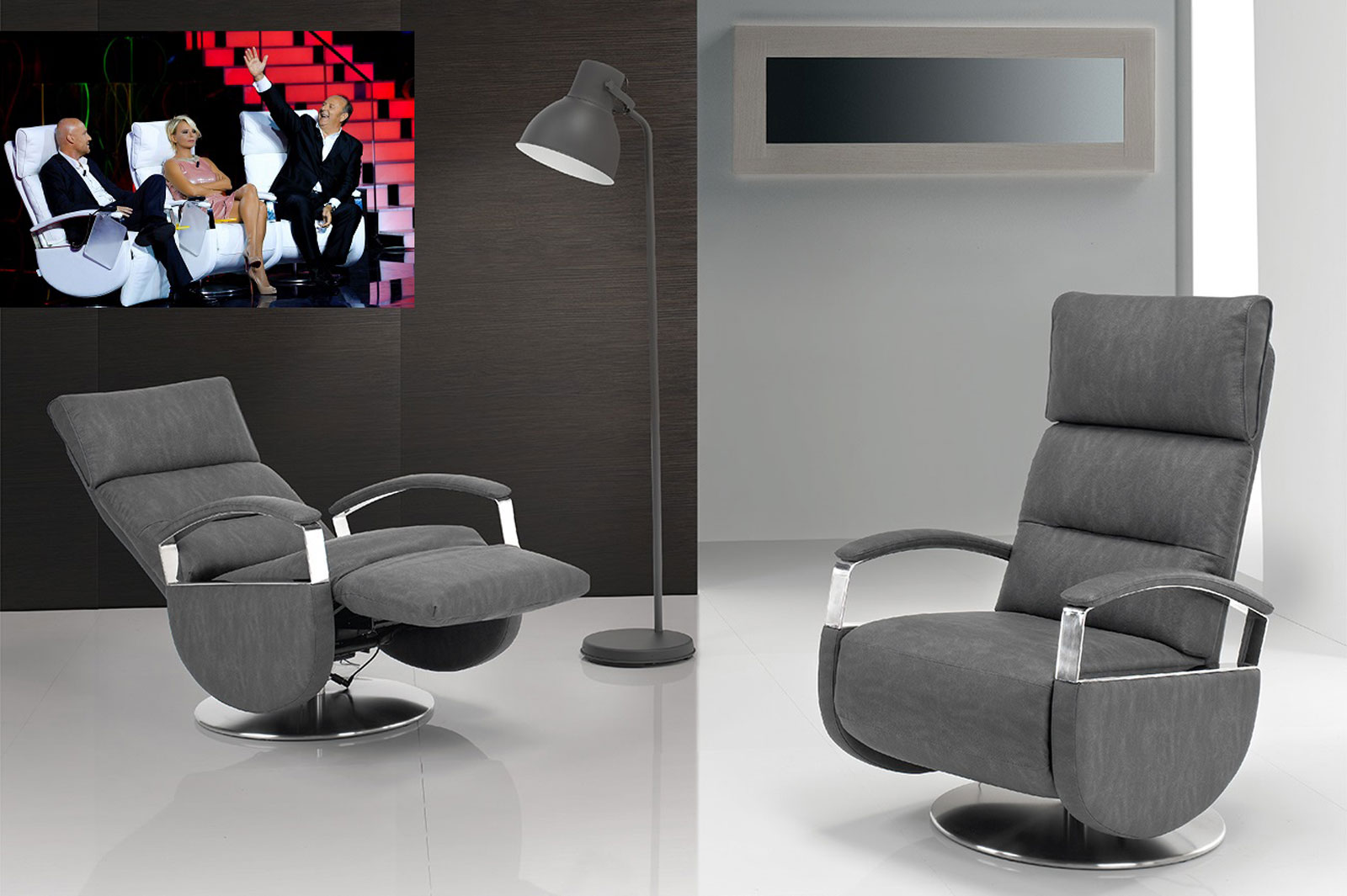 poltrone relax design viste in tv  foto grande  Poltrone