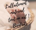 Les bienfaits de l'allaitement maternel au sein sur bébé et maman