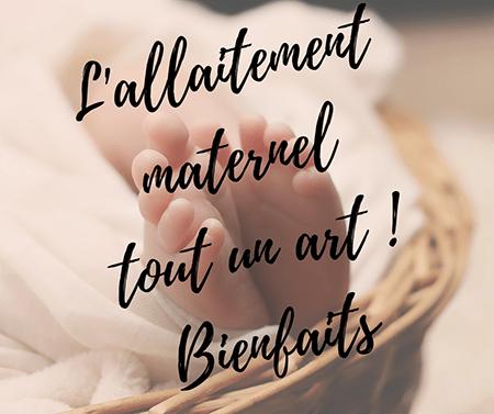Bienfaits de l' allaitement maternel