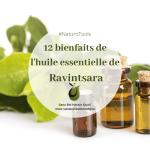 12 bienfaits de l'huile essentielle de Ravintsara