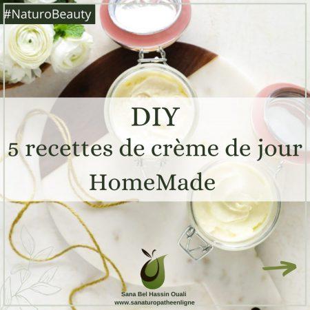 Crème de jour naturelle maison