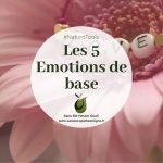 Les 5 émotions de base
