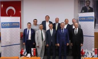 Fatih Turan OSBÜK yönetim toplantısına katıldı