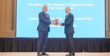 Türk Konseyi Yatırım Ödülünü Bakü'de aldı