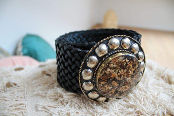 Accessoires ceinture JADE cuir mode sanbaya.fr