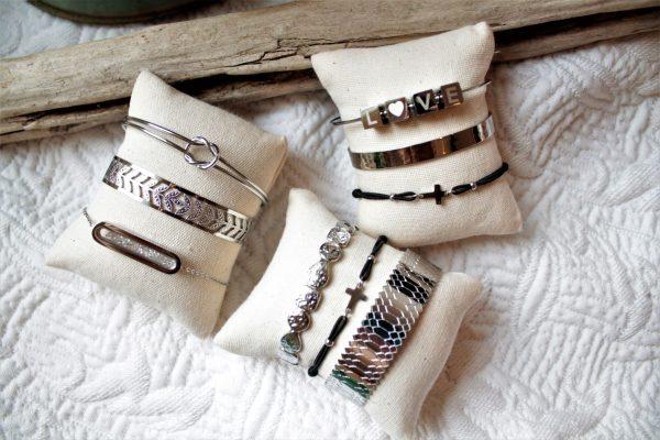 Bijoux bracelet argenté Sanbaya.fr bijouterie fantaisie