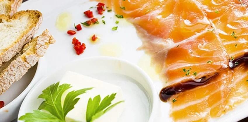 Aperitivi dal mondo aperitivo norvegese e cucina tipica