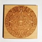 Coaster-  Mayan Calendar square