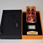 Custom USB Chargeable Electric Lighter- gold or silver colour