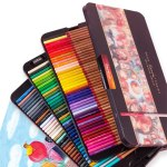 Marco Renoir Fine Art 12/24/36/48/72/100/120 Professional Colored Pencils Crayons Colouring Drawing Set