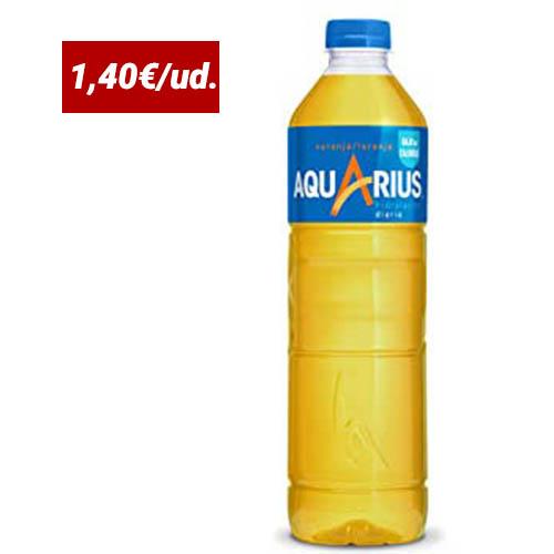 botella refresco naranja