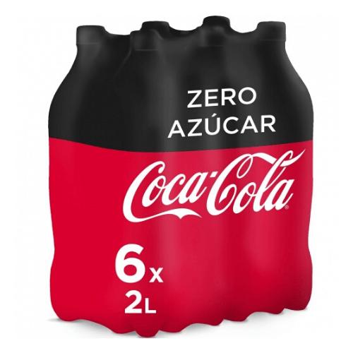 Pack de Coca-Cola zero zero