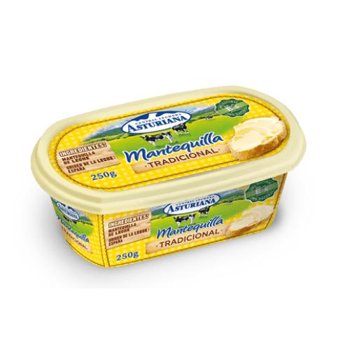 Barqueta de mantequilla tradicional