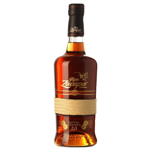 Botella de Ron Zacapa