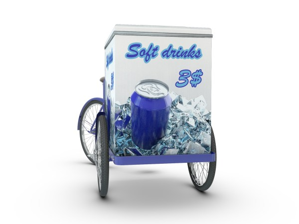 Cargo Bike Mock-Up by Sanchi477.com