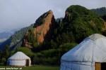 Kazachstan a Kirgizsko  v pohode