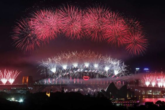 Sydney welcomes 2013 {Source: ABC}