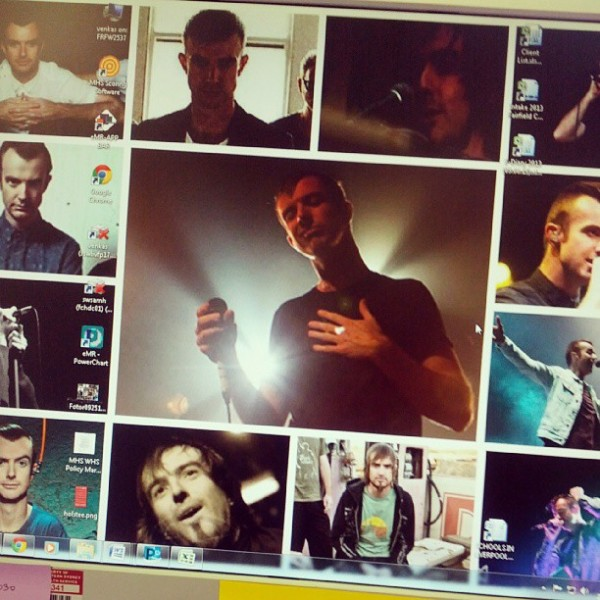 Yes that's my desktop at work