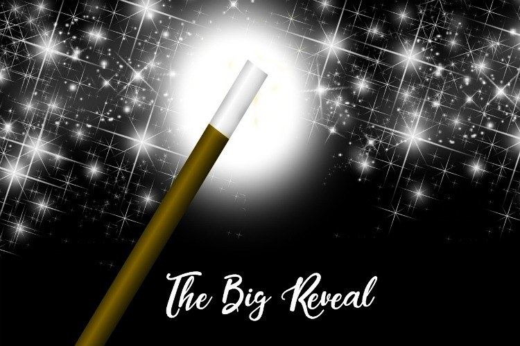 The big reveal #FridayReflections