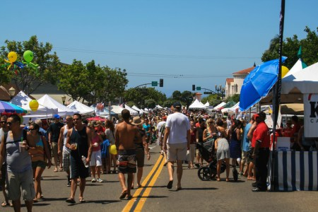 Crowds flocked to the 2012 Fiesta Street Festival in downtown San Clemente. File photo