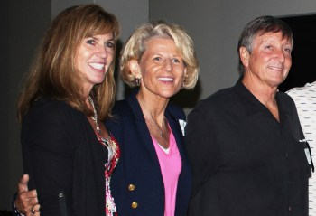 Sue Enquist, middle, will be a part of the 2014 San Clemente Sports Hall of Fame Selection Committee. Photo by Jim Shilander