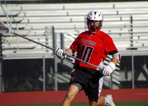 San Clemente boys lacrosse senior captain Stone Sims will anchor the Tritons defense and be a part of a talented returning group in 2014. Photo by Steve Breazeale