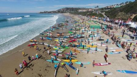 Last year's Rainbow Sandals Gerry Lopez Battle of the Paddle at Salt Creek Beach will be the last, event organizers announced. Photo: Tony Tribolet/XPSPhoto.com