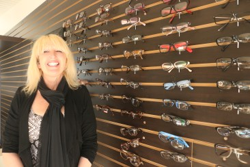 Cheryl Cavanna opened SC Eye Lab a few weeks ago with the hopes of making glasses more affordable for her customers. Photo: Eric Heinz