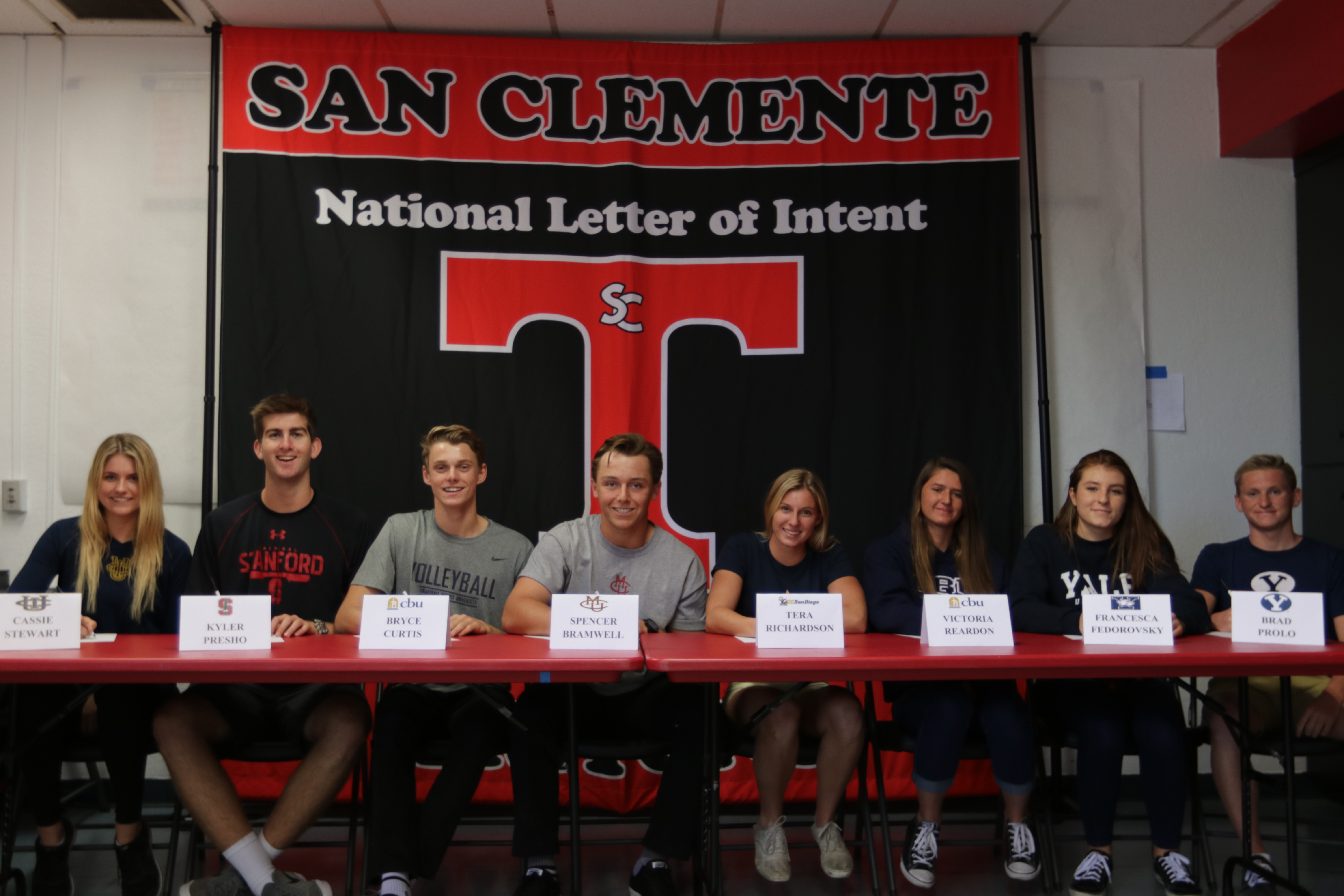 Signing Day: Triton Student-Athletes Ink National Letter Of Intent