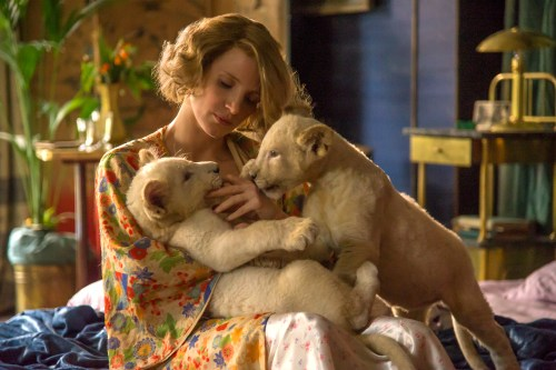 Jessica Chastain stars as Antonina Zabinski in director Niki Caro's THE ZOOKEEPER'S WIFE, a Focus Features release. Credit: Anne Marie Fox / Focus Features