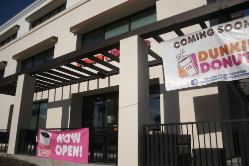 Dunkin' Donuts in San Clemente has opened and will host a grand opening on Saturday, Dec. 9, at 635 Camino De Los Mares. Photo: Eric Heinz