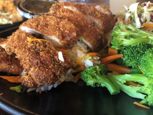 Chicken Katsu from Nalu's. Photo: Eric Heinz