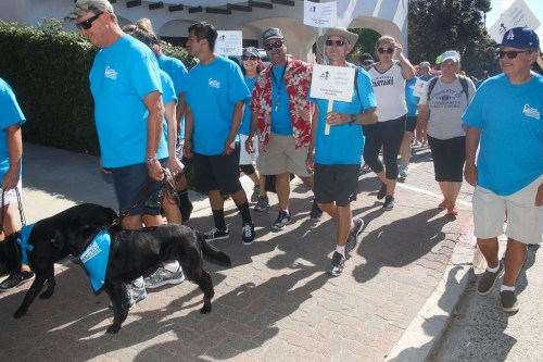 People participate in the 2017 FAM Hunger Walk in San Clemente. This year's walk takes place Sunday, Oct. 21, starting at the San Clemente Community Center. Photo: File