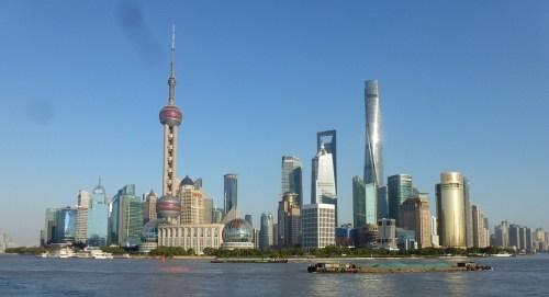 The Shanghai skyline. Photo: Tom Blake