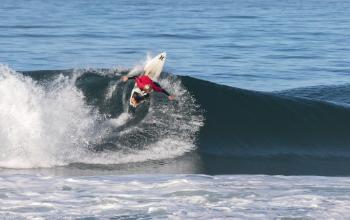 Competitors battled it out Saturday, March 30, at Salt Creek for a chance to get a spot on the Dana Point Surf Club. Photo: Luke Gonia